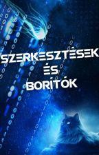 Szerkesztések és Borítók by katacat00