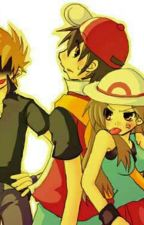 RED X BLUE Y Green Pokemon by RonnyMendoza99
