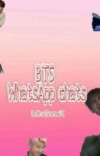 BTS WhatsApp chats by LikeSnowX