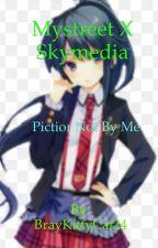 Mystreet X skymedia aphmau past comes back by BrayKittyCat24