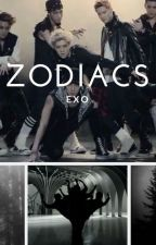 EXO ZODIACS by -wjkthetics