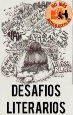 DESAFIOS LITERARIOS #NMAE by NOMASACOSOESCOLAR