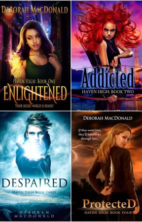 Enlightened: Haven High Book One (Wattys2017) by DebAMacD