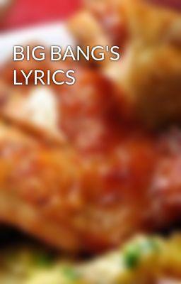 Đọc truyện BIG BANG'S LYRICS