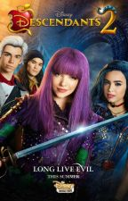 Watching Descendants by adrienxmarinette