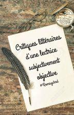 Critiques littéraires constructives- Ferme by Bleedingrose101