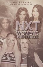 NXT Women's Preferences by WantedByAmbrose