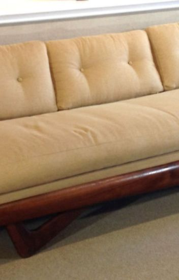 Mid Century Modern Leather Sofa & Vintage Sofa - Dallas ...