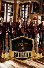 League of Bangtan // A superhero story by venddy13