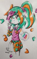 Art contest made by an apple!! by shimo_spooky_apple