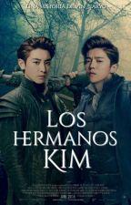Los Hermanos Kim  «ChanBaek/HunHan» by Vin_iiarYG