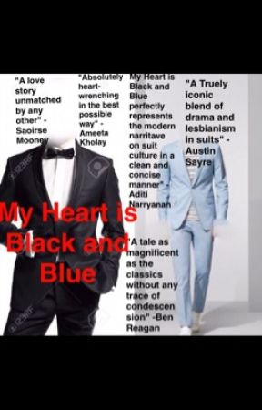 My Heart is Black and Blue: a Tale of two Lesbian Suits by Raven_Rolmonoav