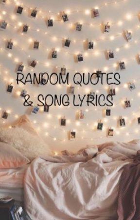 Quotes & Song Lyrics by happy_emma