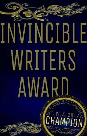 B&B's Invincible Writers Awards (OPEN) by BlueAndBlackAwards
