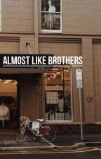 almost like brothers ❀ muke [ bardzo wolno pisane ] by luekey