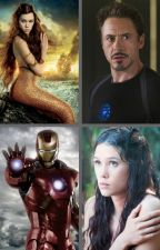 His Little Mermaid (Tony Stark x Syrena (POTC) Soul mates - Birthmarks) by insaneredhead
