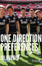 One Direction Preferences by Joloves1D