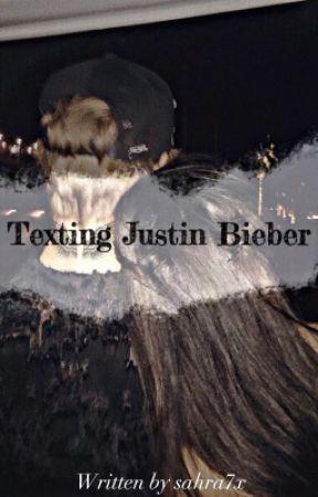 Texting Justin Bieber ♡ by sahra7x