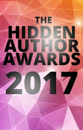 The 2017 Hidden Author Awards by HAContests