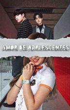 ♥Amor De Adolescentes♥(Jackson Wang) by MyCuteDarkWorld