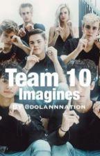 Team 10 imagines :) by BlueiiWasTaken