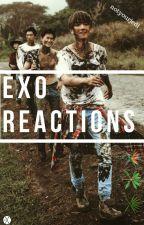 EXO reactions by notyourjedi