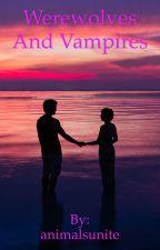 werewolf and vampire by animalsunite