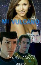 mi vulcano tu y spock star trek by agus1617barrio