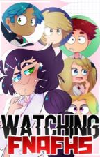 Watching FNAFHS by I-Itzia