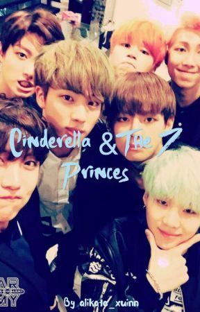 *~Cinderella and The Seven Princes~* by kumasugamon_