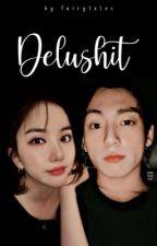 「 delushit 」;  eunha jungkook by fairytxles