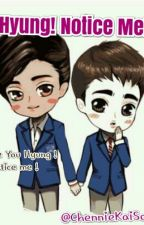 Hyung ! Notice Me !!  by ChennieKaiSoo
