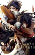 Levi x Mikasa : Ton poing contre mon coeur by The_french_frie