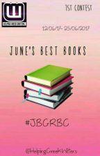 June's Best Greek Books Contest #JBGRBC  by HelpingGreekWriters
