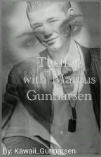 Texting with Marcus Gunnarsen by linneArmy