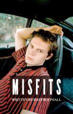 misfits ⌯ evan peters by halfmooniall