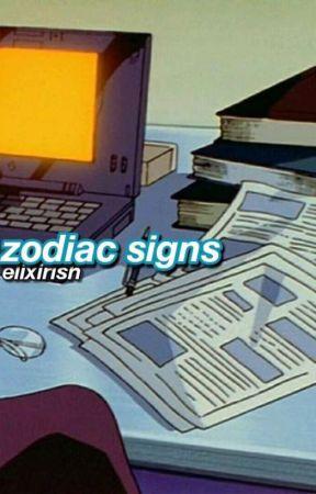 ~Zodiac Signs~ by FaaDLAstar