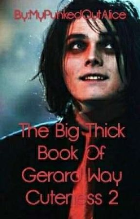 The Big Thick Book Of Gerard Way Cuteness 2 by MyPunkedOutAlice