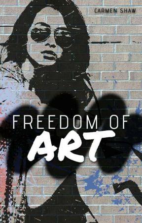 Freedom Of Art by punktrashshaw