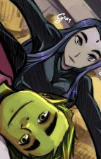 Młodzi Tytani. Teen Titans: RavenXBestia Forever In My Heard by Cytruskowa1771