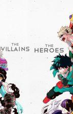 A Hero's Game- My Hero Academia by Madison_Phoenix
