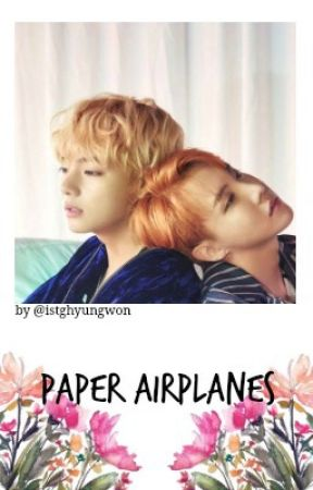 paper airplanes | vhope by istghyungwon