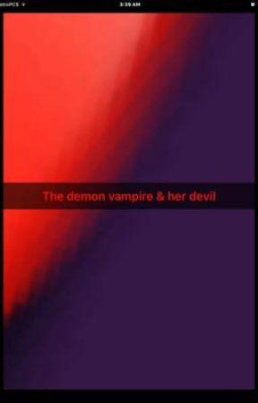 The demon vampire & her devil  by mc-demon-vampire
