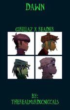 Gorillaz X Reader by therealmurdocniccals