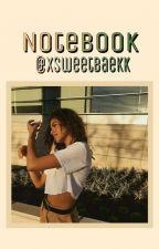 My notebook by swxxtbaxkkix