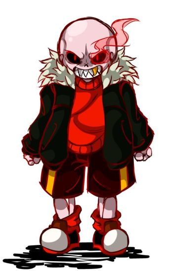 Is Red for Blood or Love? (Fell Sans x Reader)