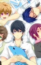 Free! x Male reader! by Lycoris_Emerald
