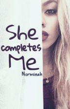 She Completes Me  by sweetseducion
