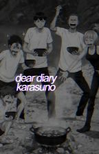 dear diary [ karasuno ]  by dotsuitarehonpo