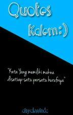 Quotes Kalem by AisyahWinda